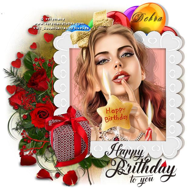 Happy Birthday Little Darlin/Debra